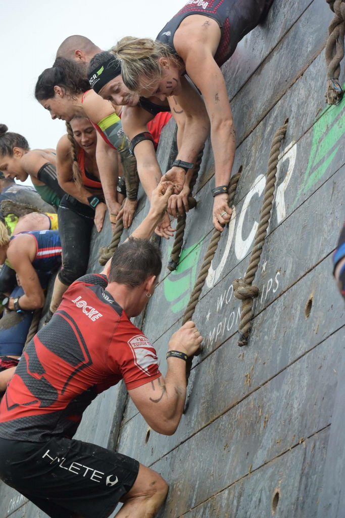 Climbing an OCR wall