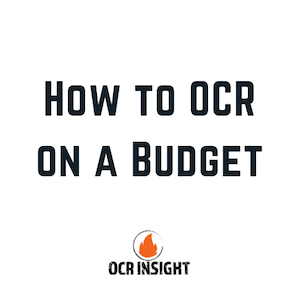 OCR On A Budget