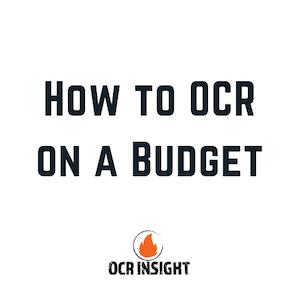 OCR On A Budget
